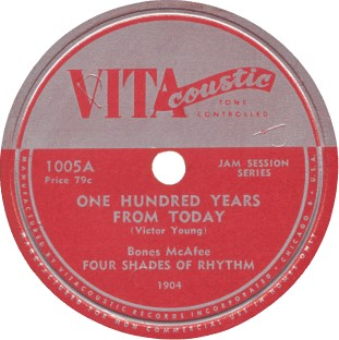 VITAcoustic Label-One Hundrd Years From Today-Four Shades Of Rhythm-1947