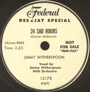 Federal Label-Jimmy Witherspoon-1954