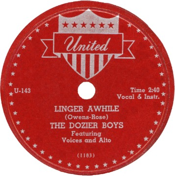 Gene Dozier & The United Front - The Best Girl I Ever Had