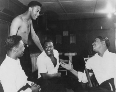 Photo Of The Four Fellows-Philly-1955
