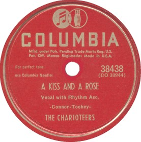 Columbia Label-The Charioteers-1949