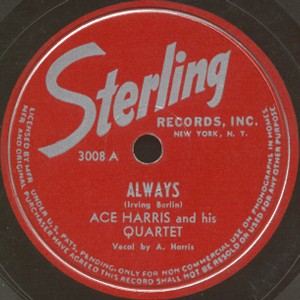 Sterling Label-Ace Harris and His Quartet-1948