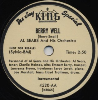 King Label-Berry Well-1952