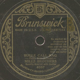 Brunswick Label-The Mills Brothers-1932