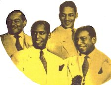 Photo Of Ink Spots-Bowen, B. Kenny, H. Kenny, Fuqua