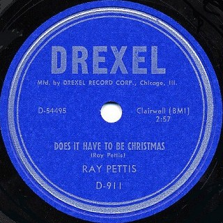 Drexel Label-Does It Have To Be Christmas-1956
