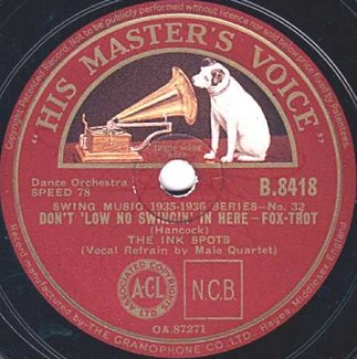 HMV Label-Ink Spots-1936