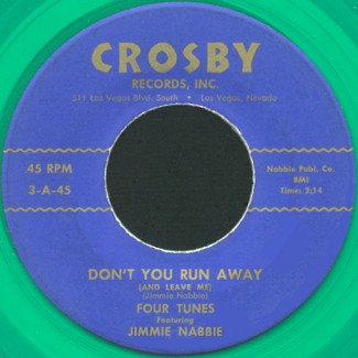 Crosby Label-Don't You Run Away-1959