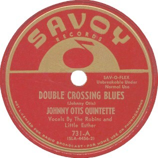 Savoy Label-Double Crossing Blues-1950