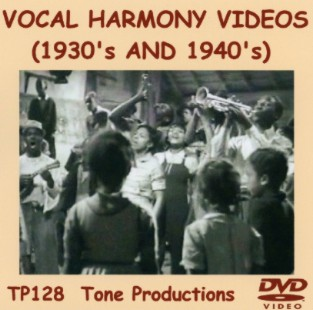 Vocal Harmony Videos DVD