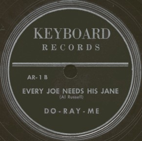Keyboard Label-Do-Ray-Me-ca1950