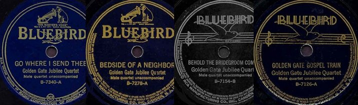 Collage Of Bluebird Labels-1937