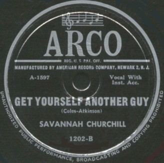 Arco Label-Get Yourself Another Guy-1949