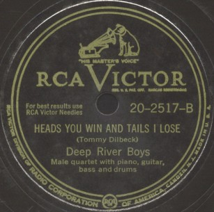 RCA Victor Label-Deep River Boys-1947
