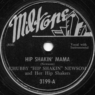 Miltone Label-Hip Shakin' Mama-1948
