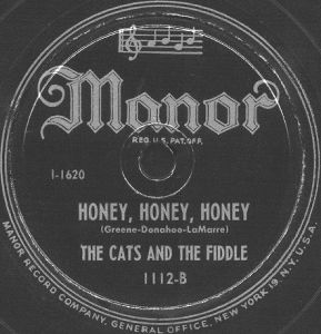 Manor Label-Cats And The Fiddle-1948