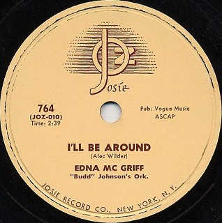 Josie Label-I'll Be Around-1954
