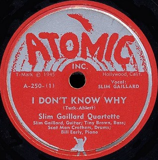 Atomic Label-I Don't Know Why-1946