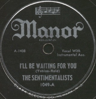 Manor Label-I'll Be Waiting For You-1946