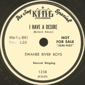 King Label-The Swanee River Boys-1953