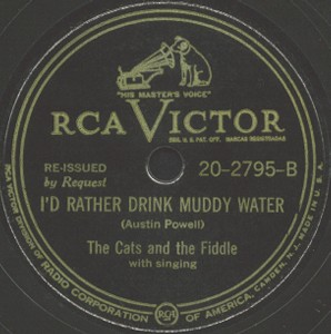 RCA Victor Label-Cats And The Fiddle-1948