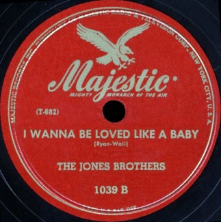 Majestic Label-I Wanna Be Loved Like A Baby-1946