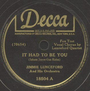 Decca Label-Lunceford Quartet-1942