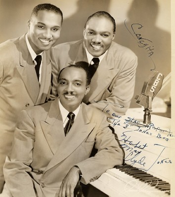 Photo Of The Jones Brothers
