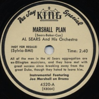 King Label-Marshall Plan-1952