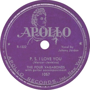 Apollo Label-The Four Vagabonds-1947