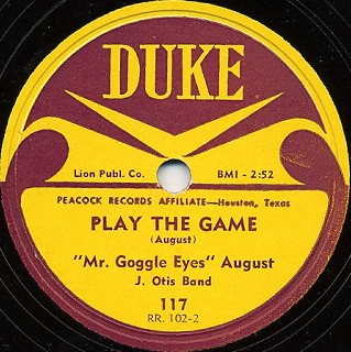 Duke Label-Play The Game-1953
