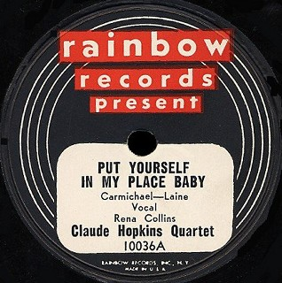 Rainbow Label-Put Yourself In My Place Baby-1947