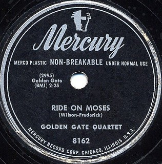 Mercury Label-Ride On Moses-1950