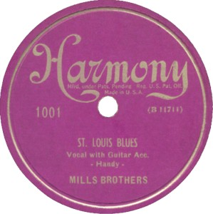 Harmony Label-St. Louis Blues-1949