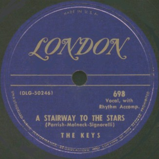 London Label-A Stairway To The Stars-1950