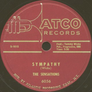 Atco Label-Sympathy-The Sensations-1955