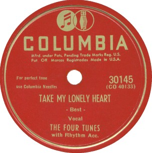 Columbia Label-The Four Tunes-1948
