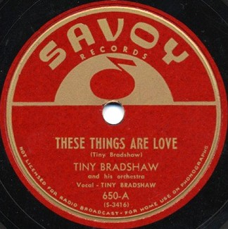 Savoy Label-These Things Are Love-1947