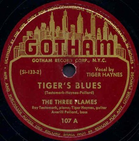 Gotham Label-The Three Flames-1946