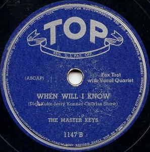 Top Label-Master Keys-1945