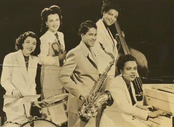 Photo Of Vi Burnside And Her All Stars