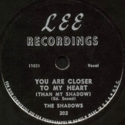 Lee Label-Shadows-You Are Closer To My Heart-1950