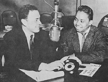 Photo of Alan Freed and Dean Barlow