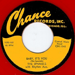 Chance Label-Baby It's You-Spaniels-1953