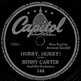 Capitol Label-Hurry Hurry