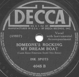 Decca Label-Ink Spots