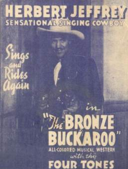 Movie Poster-The Bronze Buckaroo-Herbert Jeffrey