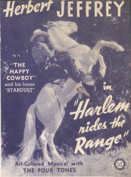 Movie Poster-Harlem Rides The Range-Herbert Jeffrey