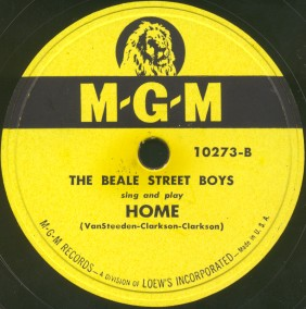 MGM Label-Home-The Beale Street Boys-1948