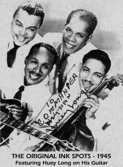 1945 Photo Of The Ink Spots